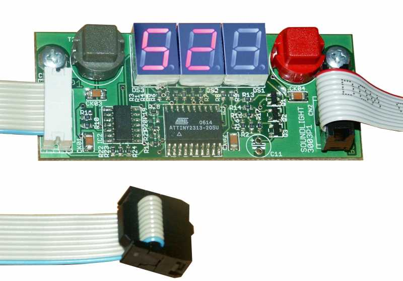 Start Address Board 3003P with LED Display